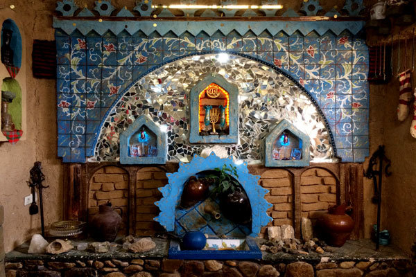 Iranian Villager Turns His House into Popular Hotel Museum