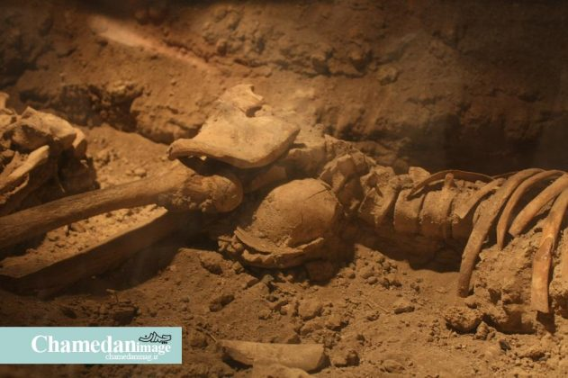 4,000-Year-Old Skeletons of Mother, Infant on Show in Iran