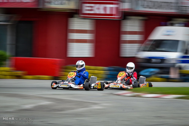 Mehr News Agency - 1st edition of Karting C'ship held in Iran