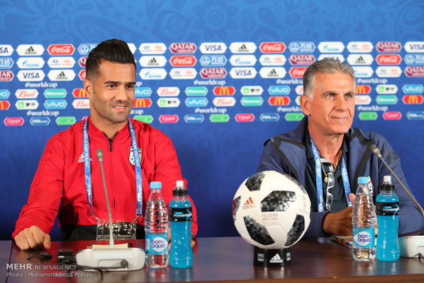 Iran pre-match press conference - Mehr News Agency