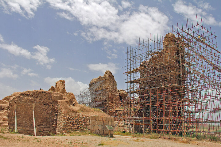 Crumbling but still fabulous: UNESCO-registered Takht-e Soleyman