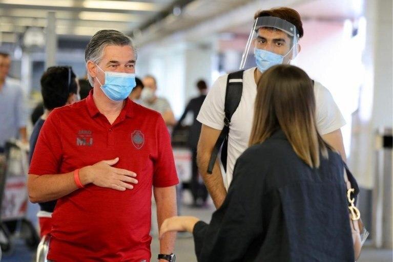 Beiranvand arrives in Belgium to join Antwerp
